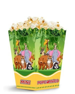 Krabička na popcorn Animal 1,5 L MINI